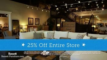 Bassett Columbus Day Sale TV Spot, '25 Percent Off Storewide' - Thumbnail 6