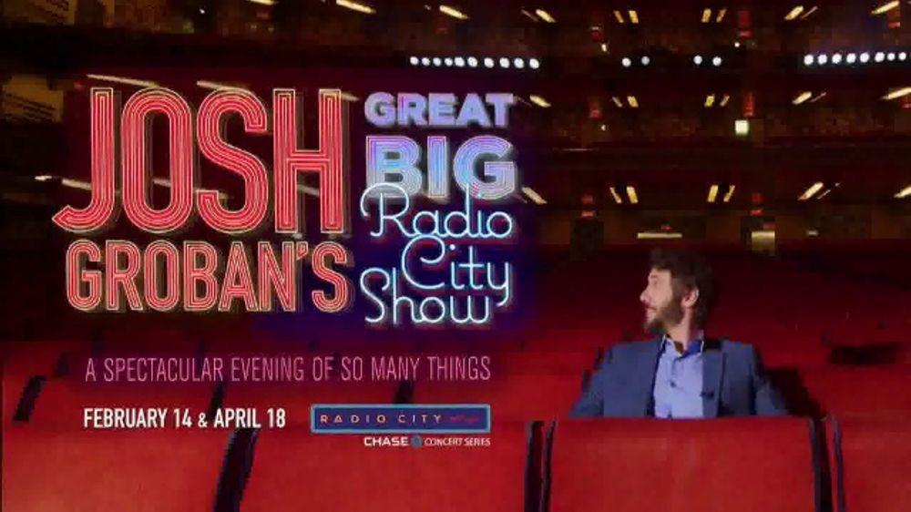Josh Groban Tour 2020.Josh Groban Great Big Radio City Show Tv Commercial 2020 New York Radio City Music Hall Feat Josh Groban Video