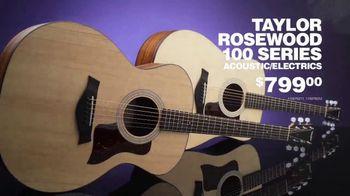 Guitar Center Guitar-A-Thon TV Spot, 'Taylor Acoustic and Line 6 Pedal' - Thumbnail 4