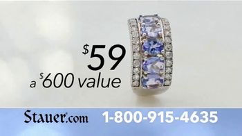 Stauer TV Spot, 'The Perfect Gift: Exotic Stones and Free Pearl Necklace' - Thumbnail 9