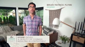 2019 HGTV Urban Oasis Giveaway TV Spot, 'Feel the Hygge' Featuring Brian Patrick Flynn