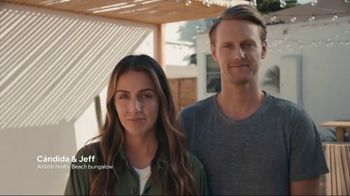 Airbnb TV Spot, 'Cándida & Jeff's Beach Bungalow'