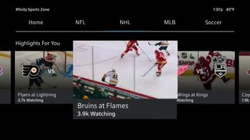XFINITY Sports Zone TV Spot, 'NHL Center Ice: Four Payments' - Thumbnail 4