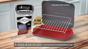 Gotham Steel Hooded Grill TV Spot, 'Bring Your Grill to the Kitchen: Free Burger Maker' - Thumbnail 10