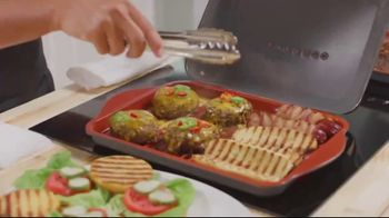 Gotham Steel Hooded Grill TV Spot, 'Bring Your Grill to the Kitchen: Free Burger Maker'