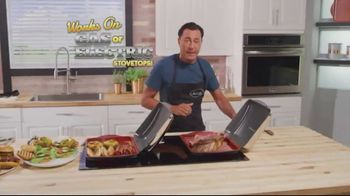 Gotham Steel Hooded Grill TV Spot, 'Bring Your Grill to the Kitchen: Free Burger Maker' - Thumbnail 4
