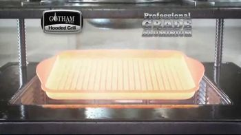Gotham Steel Hooded Grill TV Spot, 'Bring Your Grill to the Kitchen: Free Burger Maker' - Thumbnail 5