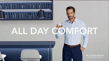 Mizzen+Main Performance Dress Shirts TV Spot, 'All Day Comfort: Free Shipping' - Thumbnail 8