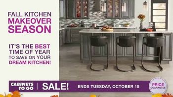 Cabinets To Go TV Spot, 'Fall Kitchen Makeover Season'