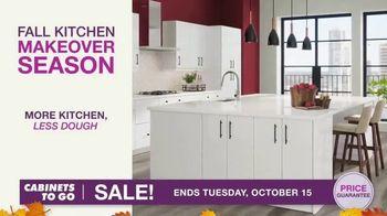 Cabinets To Go TV Spot, 'Fall Kitchen Makeover Season' - Thumbnail 4
