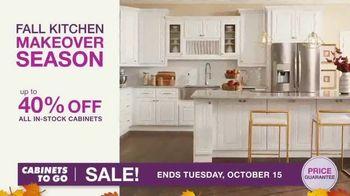 Cabinets To Go TV Spot, 'Fall Kitchen Makeover Season' - Thumbnail 5
