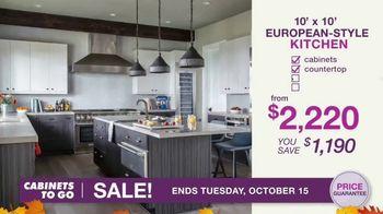 Cabinets To Go TV Spot, 'Fall Kitchen Makeover Season' - Thumbnail 6