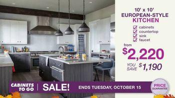 Cabinets To Go TV Spot, 'Fall Kitchen Makeover Season' - Thumbnail 7