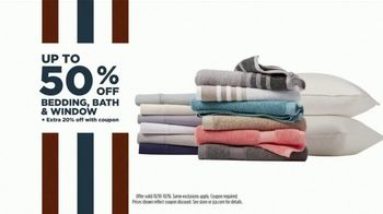 JCPenney Columbus Day Sale TV Spot, '20 Percent Off Coupon, Denim, and Bedding' - Thumbnail 9
