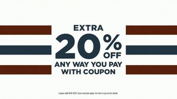 JCPenney Columbus Day Sale TV Spot, '20 Percent Off Coupon, Denim, and Bedding' - Thumbnail 4
