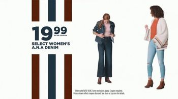 JCPenney Columbus Day Sale TV Spot, '20 Percent Off Coupon, Denim, and Bedding' - Thumbnail 6