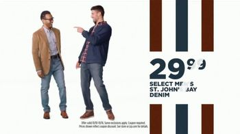 JCPenney Columbus Day Sale TV Spot, '20 Percent Off Coupon, Denim, and Bedding' - Thumbnail 7
