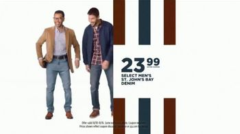 JCPenney Columbus Day Sale TV Spot, '20 Percent Off Coupon, Denim, and Bedding' - Thumbnail 8