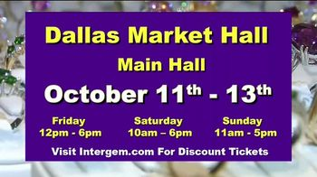 International Gem & Jewelry Show Inc. TV Spot, '2019 October: Dallas Market Hall' - Thumbnail 10