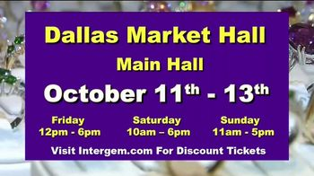 International Gem & Jewelry Show Inc. TV Spot, '2019 October: Dallas Market Hall' - Thumbnail 9