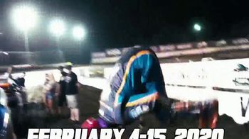 DIRTcar Nationals TV Spot, 'Florida in February: Beaches, Palm Trees, Racing' - Thumbnail 7