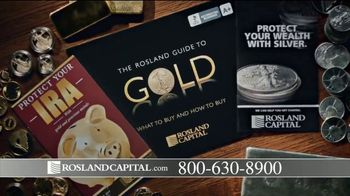 Rosland Capital TV Spot, 'Buying Power of Dollar Has Declined; Price of Gold Has Gone Up' - Thumbnail 6