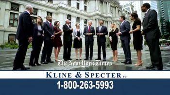 Kline & Specter TV Spot, 'Award-Winning Team'