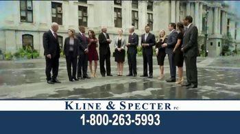 Kline & Specter TV Spot, 'Award-Winning Team' - Thumbnail 8