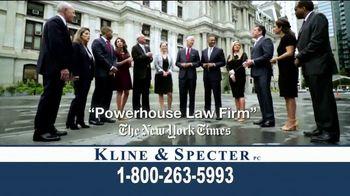 Kline & Specter TV Spot, 'Award-Winning Team' - Thumbnail 5