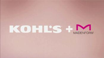 Kohl's Fit Event TV Spot, 'Maidenform' - Thumbnail 2