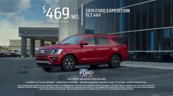 2019 Ford Expedition TV Spot, 'Life on the Go' [T2] - Thumbnail 4