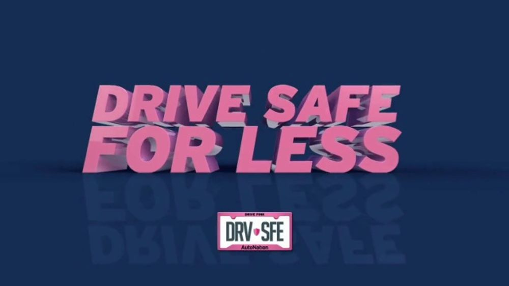 AutoNation TV Commercial, 'Drive Safe for Less: Four New Tires: General Tire Rebate'