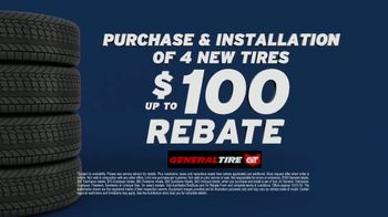 AutoNation TV Spot, 'Drive Safe for Less: Four New Tires: General Tire Rebate' - Thumbnail 3