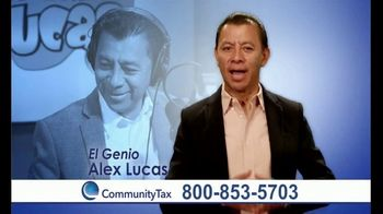 Community Tax TV Spot, 'No te preocupes' con Alex Lucas [Spanish] - Thumbnail 1