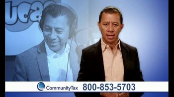 Community Tax TV Spot, 'No te preocupes' con Alex Lucas [Spanish] - 5 commercial airings