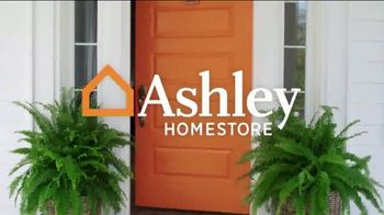 Ashley HomeStore Columbus Day Sale TV Spot, '30 Percent off or No Interest: Bed' Song by Midnight Riot - Thumbnail 1