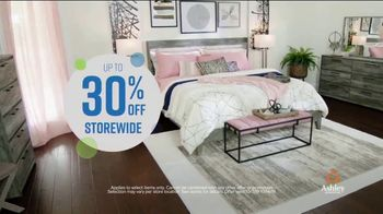 Ashley HomeStore Columbus Day Sale TV Spot, '30 Percent off or No Interest: Bed' Song by Midnight Riot - Thumbnail 4