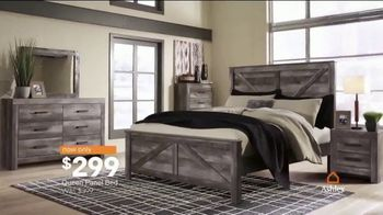 Ashley HomeStore Columbus Day Sale TV Spot, '30 Percent off or No Interest: Bed' Song by Midnight Riot - Thumbnail 5