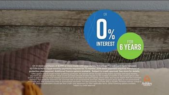 Ashley HomeStore Columbus Day Sale TV Spot, '30 Percent off or No Interest: Bed' Song by Midnight Riot - Thumbnail 6