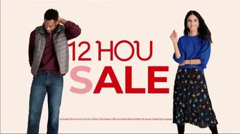 Stein Mart 12-Hour Sale TV Spot, 'Biggest 12-Hour Sale of the Season'