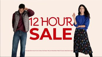 Stein Mart 12-Hour Sale TV Spot, 'Biggest 12-Hour Sale of the Season'