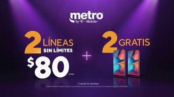 Metro by T-Mobile TV Spot, 'Teléfonos gratis con Amazon Prime' [Spanish] - Thumbnail 7