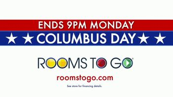 Rooms to Go TV Spot, 'Columbus Day: Time Is Running Out' - Thumbnail 9