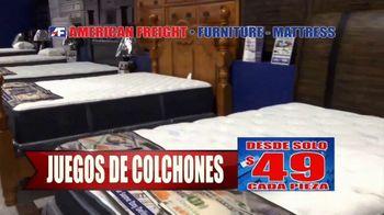 American Freight Gran Venta Semestral TV Spot, 'Lléveselo a casa' [Spanish] - Thumbnail 3