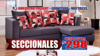 American Freight Gran Venta Semestral TV Spot, 'Lléveselo a casa' [Spanish] - Thumbnail 5