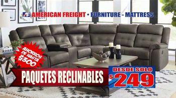 American Freight Gran Venta Semestral TV Spot, 'Lléveselo a casa' [Spanish] - Thumbnail 6
