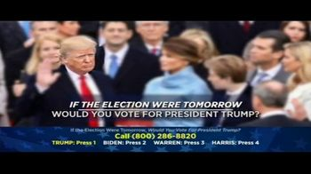 American Polling, LLC TV Spot, 'If the Election Were Tomorrow' - Thumbnail 1