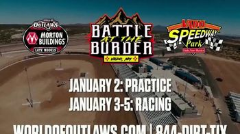 World of Outlaws TV Spot, '2020 Vado Speedway Park: Battle at the Border' - Thumbnail 10
