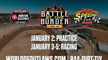 World of Outlaws TV Spot, '2020 Vado Speedway Park: Battle at the Border' - Thumbnail 9