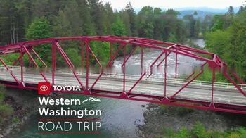 2019 Toyota Prius TV Spot, 'Western Washington Road Trip: Prius' Featuring Danielle Demski, Ethan Erickson [T2] - Thumbnail 1